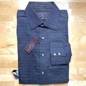 Black Brown 1826 Checkered Long Sleeve Shirt